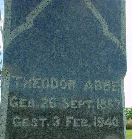 ABBE, THEODOR - Ida County, Iowa | THEODOR ABBE