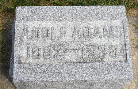 ADAMS, ADOLF - Ida County, Iowa | ADOLF ADAMS