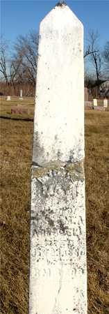 ADUDDELL, MARY - Ida County, Iowa   MARY ADUDDELL