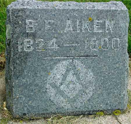 AIKEN, B . F. - Ida County, Iowa | B . F. AIKEN