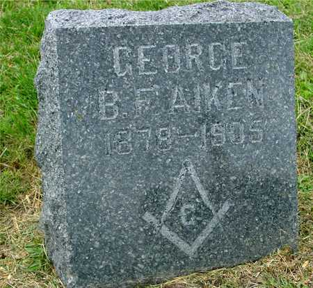 AIKEN, GEORGE B. F. - Ida County, Iowa | GEORGE B. F. AIKEN