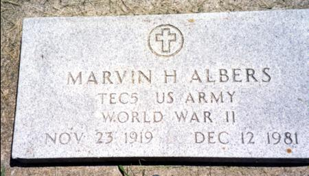 ALBERS, MARVIN H. - Ida County, Iowa | MARVIN H. ALBERS