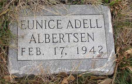 ALBERTSEN, EUNICE ADELL - Ida County, Iowa | EUNICE ADELL ALBERTSEN