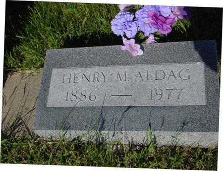 ALDAG, HENRY - Ida County, Iowa | HENRY ALDAG