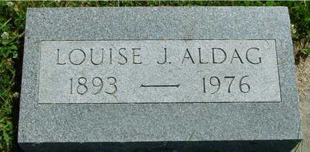 ALDAG, LOUISE J. - Ida County, Iowa | LOUISE J. ALDAG