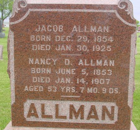ALLMAN, JACOB - Ida County, Iowa | JACOB ALLMAN
