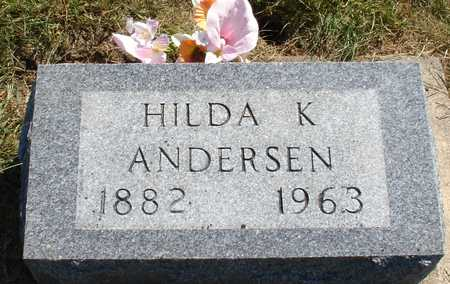 ANDERSEN, HULDA K. - Ida County, Iowa | HULDA K. ANDERSEN