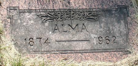 ANDERSON, ALMA - Ida County, Iowa | ALMA ANDERSON