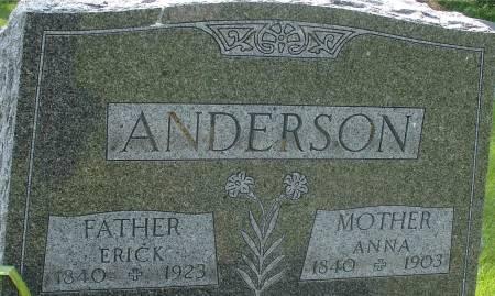 ANDERSON, ANNA - Ida County, Iowa   ANNA ANDERSON