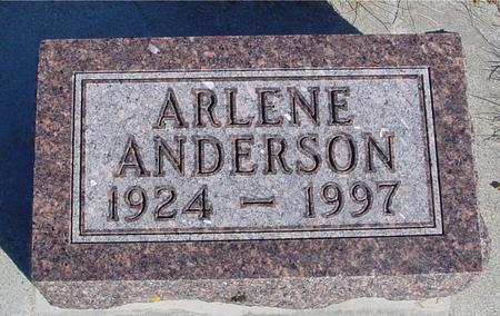 ANDERSON, ARLENE - Ida County, Iowa | ARLENE ANDERSON