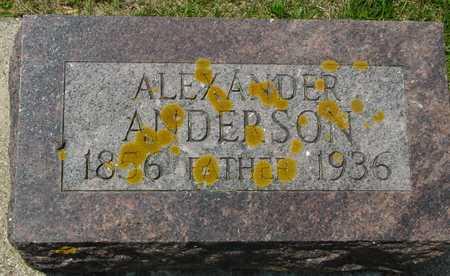 ANDERSON, ALEXANDER - Ida County, Iowa | ALEXANDER ANDERSON