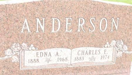 ANDERSON, EDNA A. - Ida County, Iowa | EDNA A. ANDERSON
