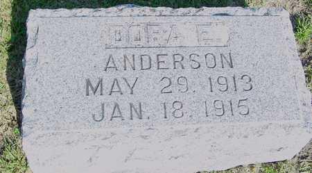 ANDERSON, DORA E. - Ida County, Iowa | DORA E. ANDERSON