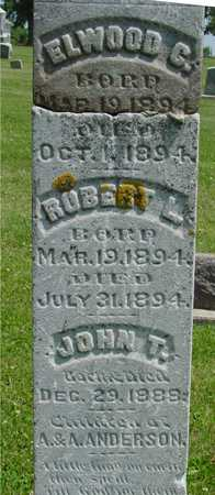 ANDERSON, ELWOOD, ROBERT,  & JOHN - Ida County, Iowa | ELWOOD, ROBERT,  & JOHN ANDERSON