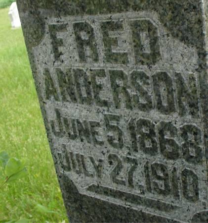 ANDERSON, FRED - Ida County, Iowa | FRED ANDERSON
