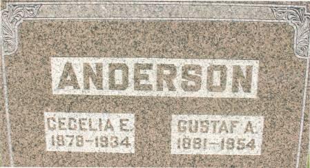 ANDERSON, CECELIA E. - Ida County, Iowa   CECELIA E. ANDERSON