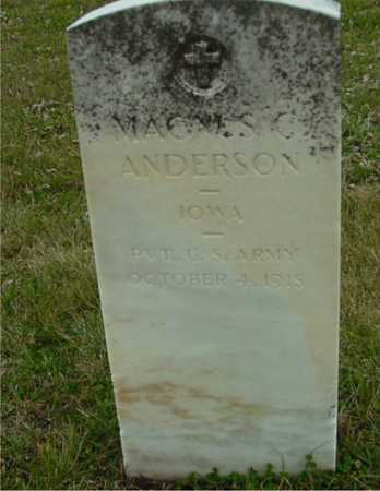 ANDERSON, MAGNUS C. - Ida County, Iowa   MAGNUS C. ANDERSON