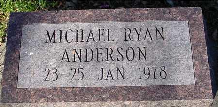 ANDERSON, MICHAEL RYAN - Ida County, Iowa | MICHAEL RYAN ANDERSON
