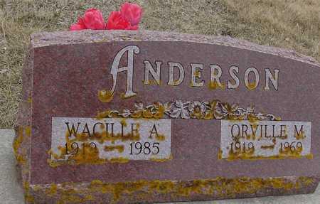 ANDERSON, ORVILLE & WACILLE - Ida County, Iowa | ORVILLE & WACILLE ANDERSON