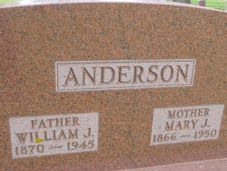ANDERSON, WILLIAM - Ida County, Iowa | WILLIAM ANDERSON