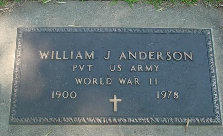 ANDERSON, WILLIAM J. - Ida County, Iowa   WILLIAM J. ANDERSON