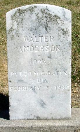 ANDERSON, WALTER - Ida County, Iowa | WALTER ANDERSON