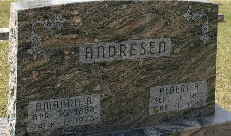 ANDRESEN, ALBERT & AMANDA - Ida County, Iowa | ALBERT & AMANDA ANDRESEN