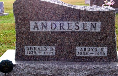 ANDRESEN, DONALD & ARDYS - Ida County, Iowa | DONALD & ARDYS ANDRESEN