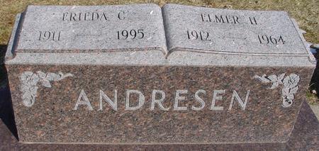 ANDRESEN, FRIEDA - Ida County, Iowa | FRIEDA ANDRESEN