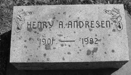 ANDRESEN, HENRY A. - Ida County, Iowa | HENRY A. ANDRESEN