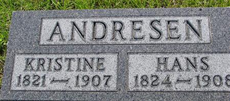 ANDRESEN, KRISTINE - Ida County, Iowa   KRISTINE ANDRESEN