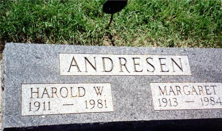 ANDRESEN, MARGARET - Ida County, Iowa | MARGARET ANDRESEN