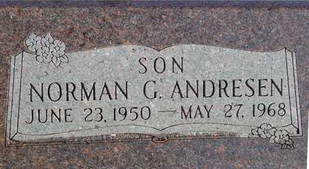 ANDRESEN, NORMAN G. - Ida County, Iowa | NORMAN G. ANDRESEN