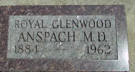 ANSPACH, ROYAL GLENWOOD - Ida County, Iowa | ROYAL GLENWOOD ANSPACH