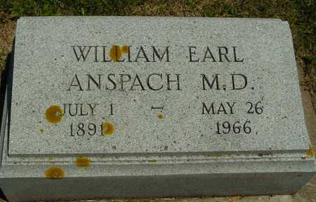 ANSPACH, WILLIAM EARL - Ida County, Iowa   WILLIAM EARL ANSPACH