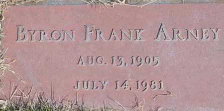 ARNEY, BYRON FRANK - Ida County, Iowa   BYRON FRANK ARNEY