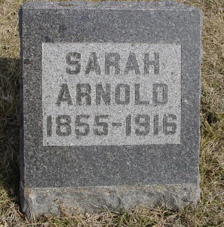 ARNOLD, SARAH - Ida County, Iowa   SARAH ARNOLD