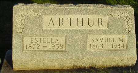 ARTHUR, SAMUEL & ESTELLA - Ida County, Iowa | SAMUEL & ESTELLA ARTHUR