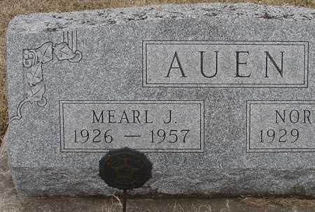 AUEN, MEARL J. - Ida County, Iowa | MEARL J. AUEN
