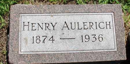 AULERICH, HENRY - Ida County, Iowa | HENRY AULERICH