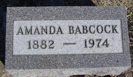 BABCOCK, AMANDA - Ida County, Iowa   AMANDA BABCOCK