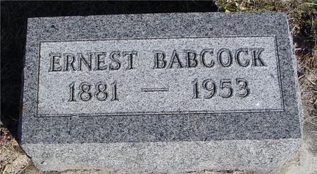 BABCOCK, ERNEST - Ida County, Iowa | ERNEST BABCOCK