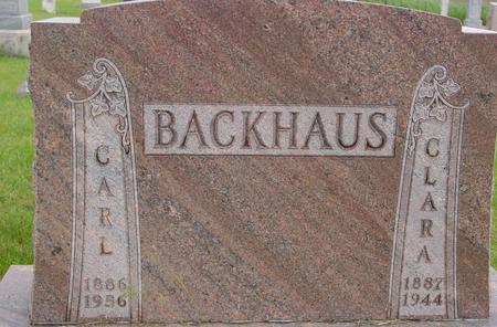 BACKHAUS, CARL - Ida County, Iowa | CARL BACKHAUS
