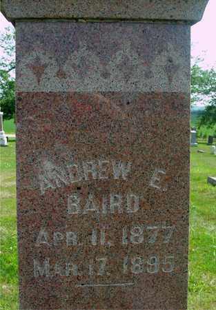 BAIRD, ANDREW E. - Ida County, Iowa | ANDREW E. BAIRD
