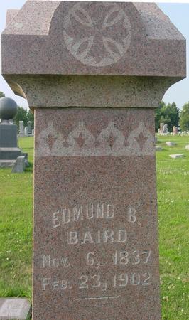 BAIRD, EDMUND B. - Ida County, Iowa | EDMUND B. BAIRD