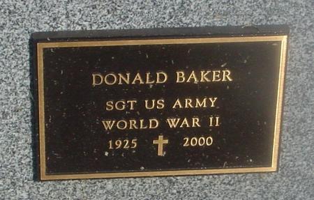 BAKER, DONALD - Ida County, Iowa | DONALD BAKER