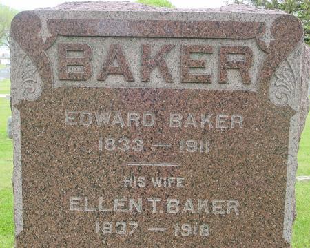 BAKER, EDWARD - Ida County, Iowa | EDWARD BAKER