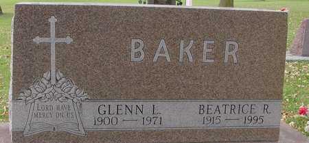 BAKER, GLENN & BEATRICE - Ida County, Iowa | GLENN & BEATRICE BAKER