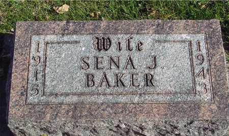 BAKER, SENA J. - Ida County, Iowa | SENA J. BAKER