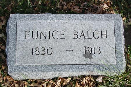 BALCH, EUNICE - Ida County, Iowa | EUNICE BALCH